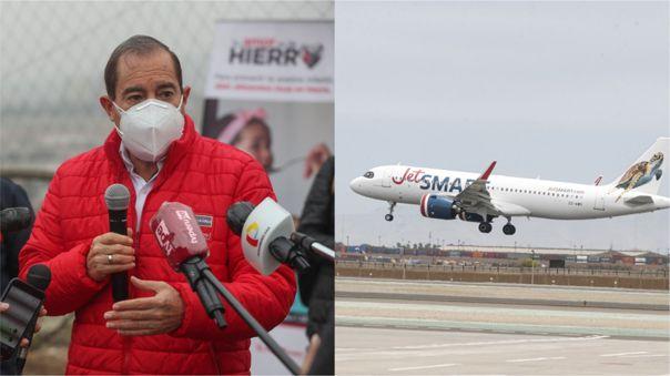 El PCM indicó que aún se está evaluando el retorno de los vuelos internacionales.