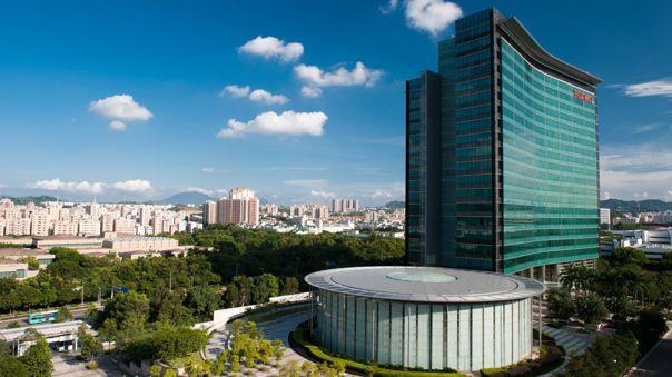 Sede central de Huawei en Shenzhen, China