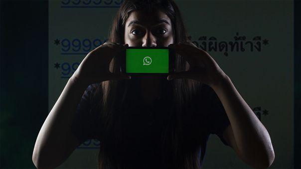 La campaña aprovecha una falla de WhatsApp a la hora de procesar el texto.
