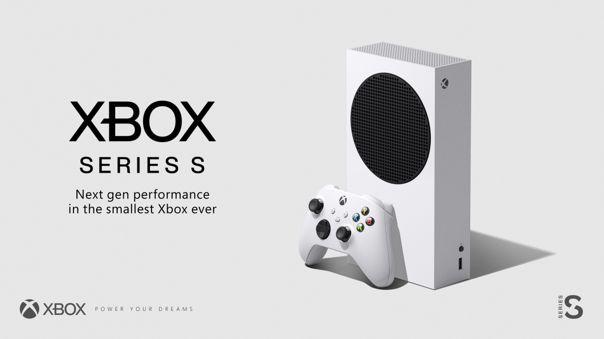 Así luce la Xbox Series S.