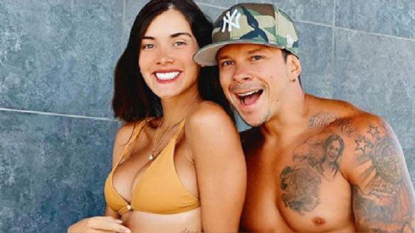 Korina Rivadeneira y Mario Hart