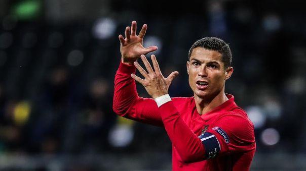 Cristiano Ronaldo lleva anotados  101 goles con la Selección de Portugal