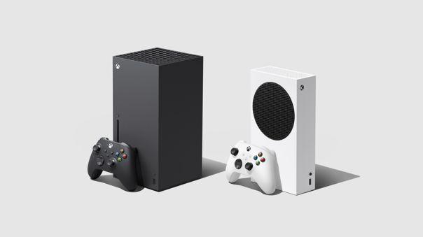 La Xbox Series X y la Xbox Series S.