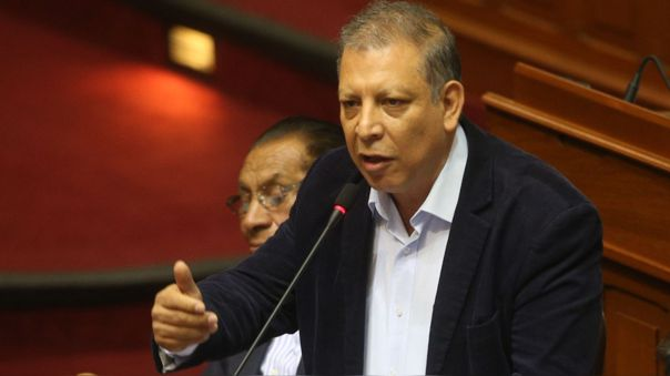 El excongresista dijo que se debe respetar el debido proceso ante los audios presentados por Alarcón.