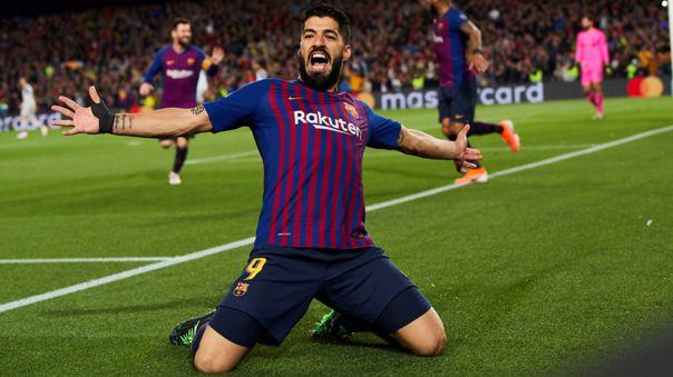 Luis Suárez es el tercer máximo goleador histórico de Barcelona