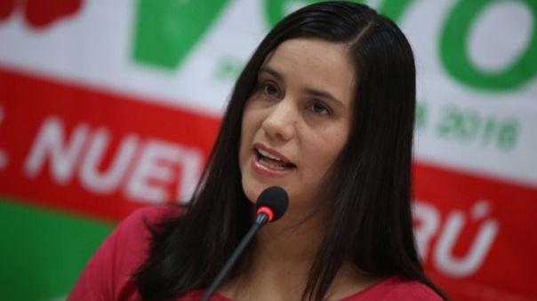 La líderesa de Nuevo Perú pidió a la Fiscalía las investigaciones correspondientes en cuanto a los audios difundidos por Edgar Alarcón.