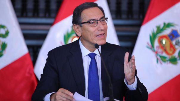 El presidente pidió a la población no distraerse en conflictos políticos tras la solicitud de vacancia presidencial en su contra.