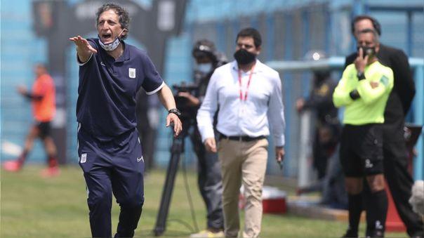 Mario Salas ha dirigido cuatro partidos en Alianza Lima