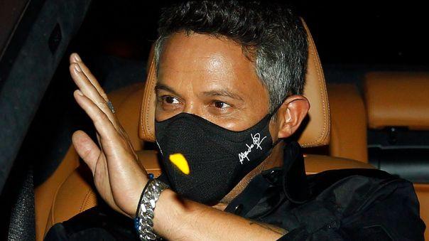 Alejandro Sanz evitó hablar del acuerdo de su divorcio