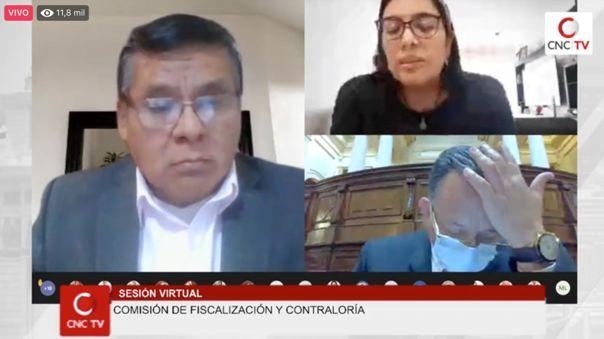 La trabajadora de Palacio pidió que no la usen como una herramienta política durante su interrogatorio en la comisión.