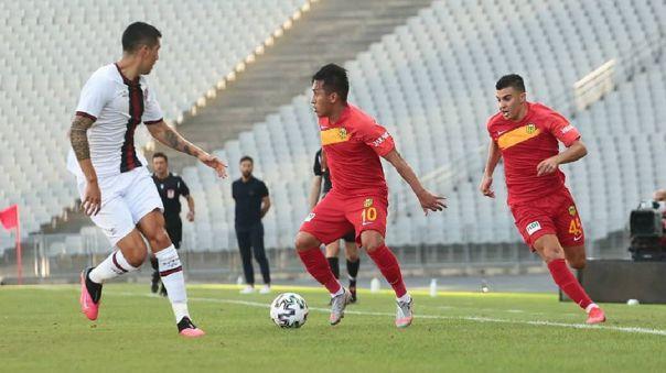 Christian Cueva debuta en Yeni Malatyaspor de Turquía