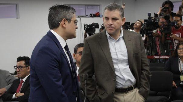 Fiscal Pérez dio descargos al fiscal superior.