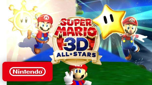 Super Mario 3D All-Stars será lanzado el 18 de setiembre a nivel mundial.