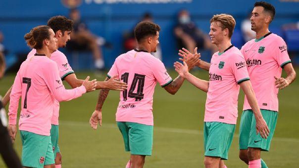 Ver Gol Lionel Messi Fc Barcelona Vs Girona Philippe Coutinho Anoto El 1 0 Tras Gran Jugada Con Messi Y Trincao Amistoso Rpp Noticias