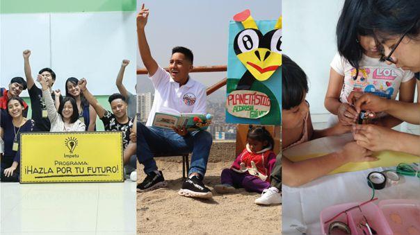 ¡Educación para todos! Conoce Ímpetu, Planetástico y Ciencia en tu Comunidad, iniciativas de jóvenes peruanos