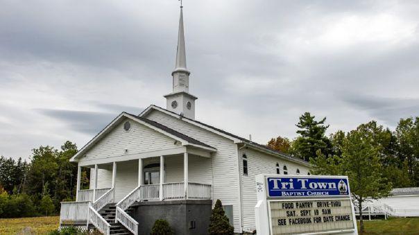 Iglesia en la que se realizó la boda