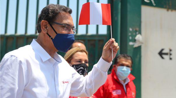 Martín Vizcarra en visita oficial a La Libertad