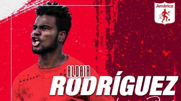 Aldair Rodríguez es nuevo delantero de América de Cali