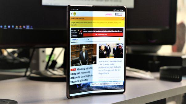 Ya tenemos a prueba al Galaxy Z Fold 2 de Samsung