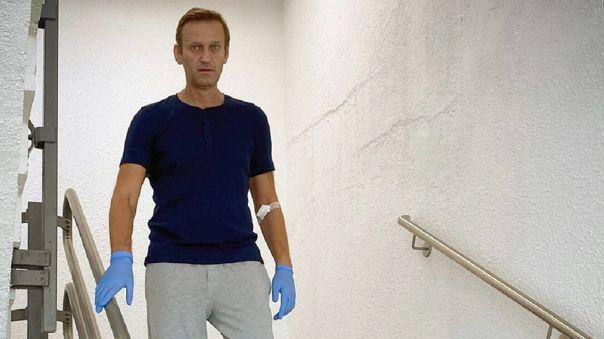 El 20 de agosto Navalni fue víctima de grave malestar a bordo del avión que lo llevaba a Moscú desde Siberia.