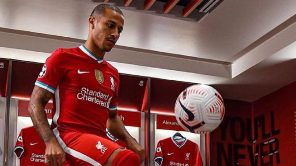 Liverpool fichó a Thiago Alcántara por 26 millones de euros
