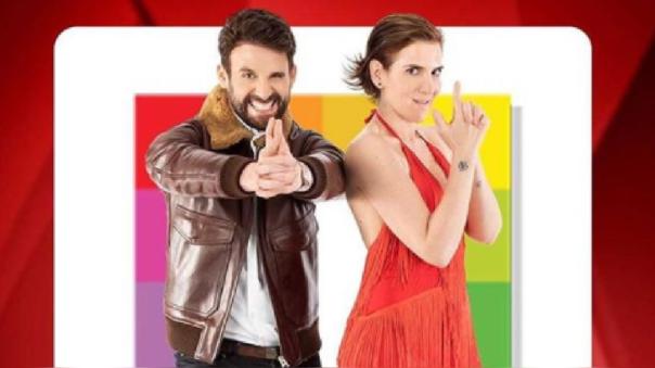Rodrigo González y Gigi Mitre regresaron a la televisión con