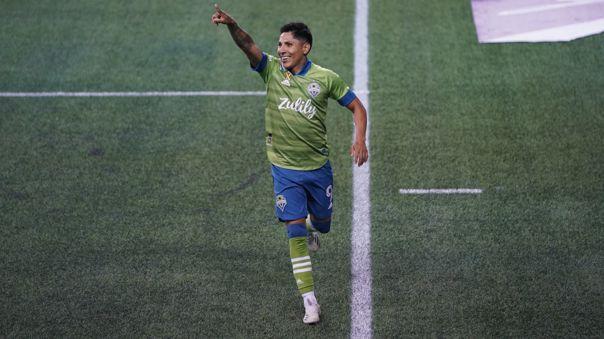 Raúl Ruidíaz tiene ocho goles en la temporada 2020