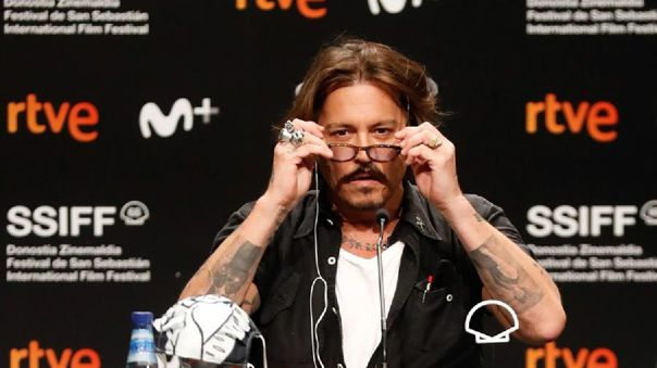 Johnny Depp se presentó en el Festival de San Sebastián.
