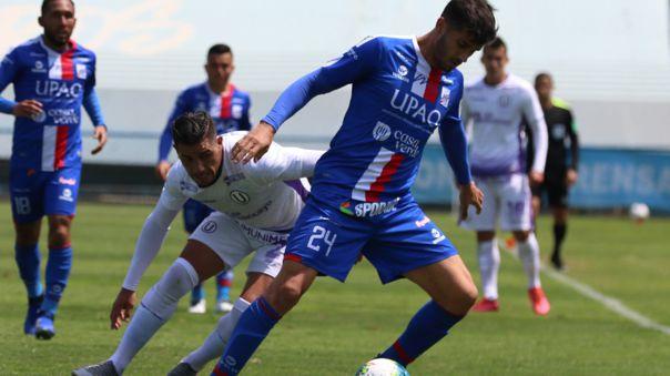 Universitario de Deportes 2-2 Carlos A. Mannucci