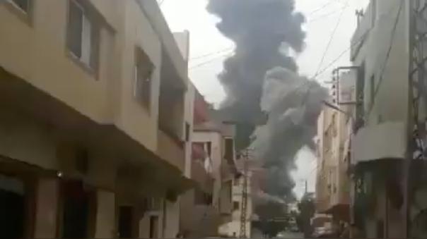 Según residentes, las ambulancias se llevaron a varias víctimas.