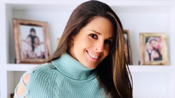 Rebeca Escribens dedicó saludo de cumpleaños a su esposo