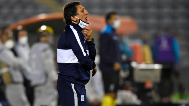 Alianza Lima no ha sumado triunfos con Mario Salas de entrenador