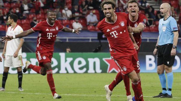 Bayern Munich venció 2-1 a Sevilla