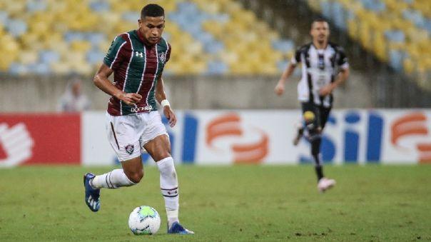 Fernando Pacheco llegó a Fluminense en la temporada 2020