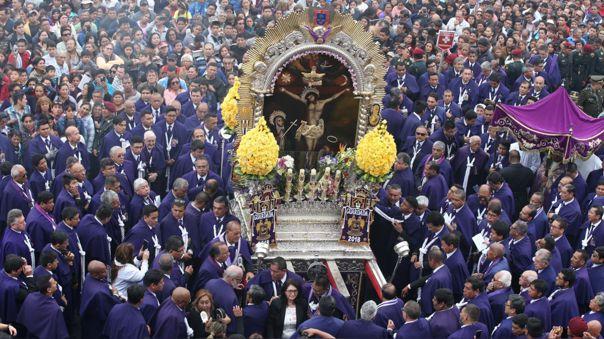 El Cristo Moreno no paseará por las calles de Lima este año por la pandemia de la COVID-19.