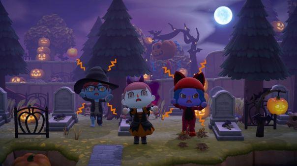 Animal Crossing: New Horizons Halloween