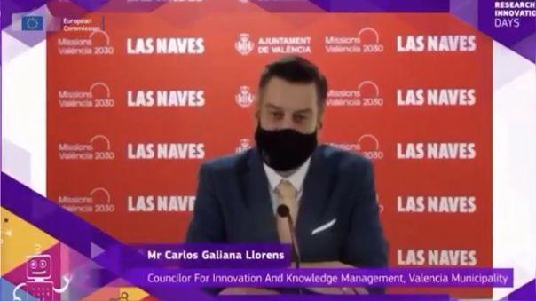 Carlos Galiana en su intervención