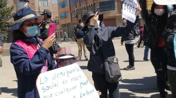 Protestas Puno