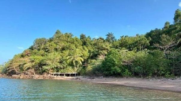 La isla de Koh Chang, famosa por sus playas y sus aguas turquesas.