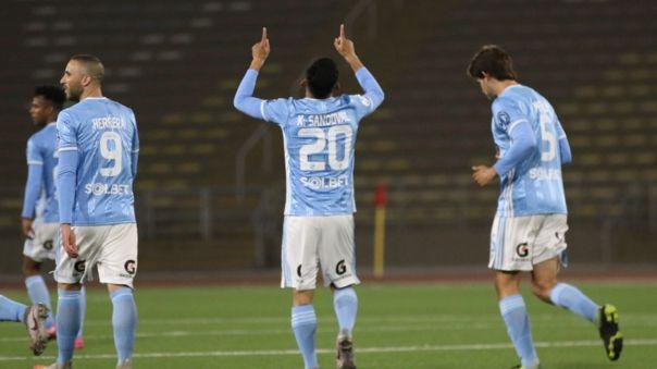 Kevin Sandoval marcó el primero de Sporting Cristal ante Ayacucho FC