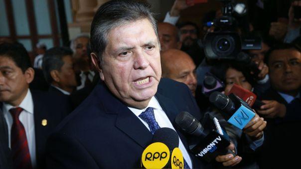 El expresidente Alan García falleció en abril de 2019, tras atentar contra su vida.