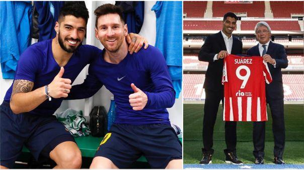 Messi y Suárez jugaron juntos durante 6 temporadas en Barcelona