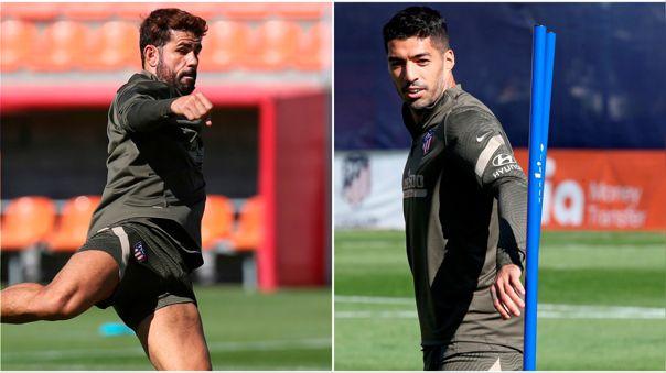 Suárez y Costa anotaron en el triunfo de Atlético de Madrid ante Granada