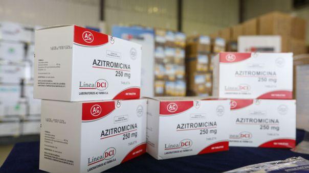 La ministra indicó que la hidroxicloroquina está siendo usada en pacientes específicos.