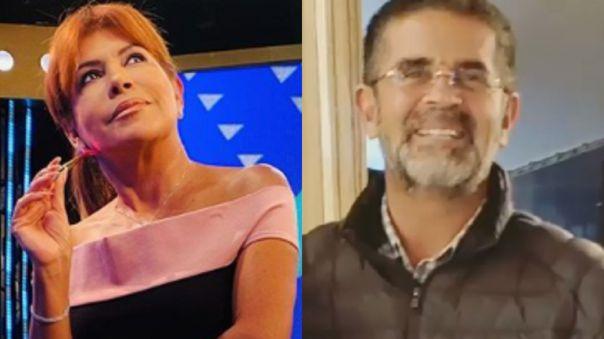 Magaly Medina y Javier Carmona
