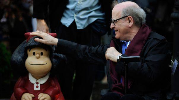 El dibujante argentino Joaquín Salvador Lavado, conocido como Quino y popular por ser el creador de Mafalda, falleció este miércoles en Mendoza
