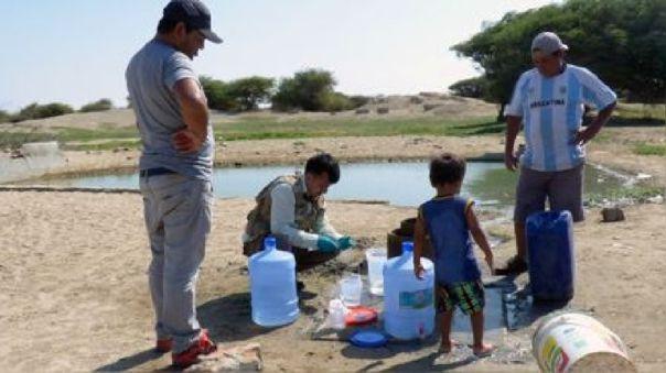 Agua contaminada en Pacora