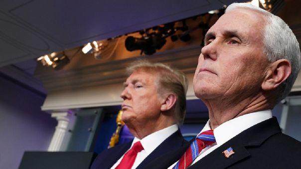 Un Portavoz indicó que Mike Pence, quien asumirá si la condición de Trump empeora, dio negativo a la COVID-19.