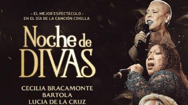 Lucía de la Cruz, Bartola y Cecilia Bracamonte juntas por el Día de la Canción Criolla.