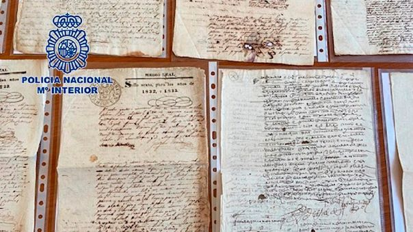 Manuscritos recuperados